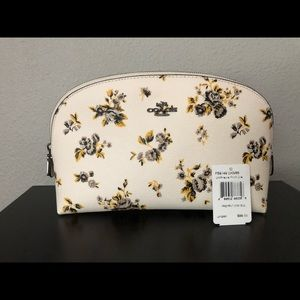 NWT Coach Prairie Chalk Cosmetic Case 22